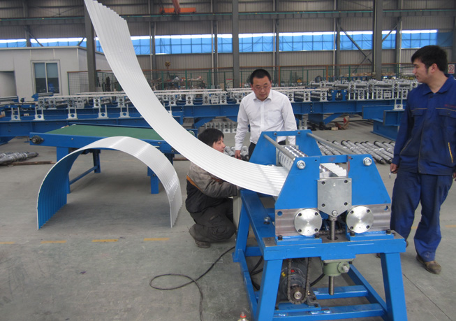 Roofing Panel Curving Machine