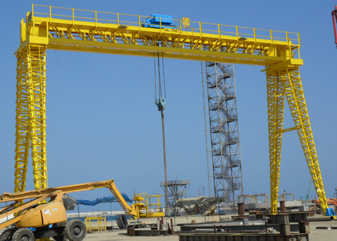 Overhead Crane Design Calculations : Sale of gantry crane from top manufacturers with