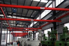 Features of KBK crane system